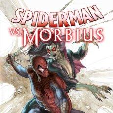 Cómics: SPIDERMAN VS MORBIUS. Lote 243789605