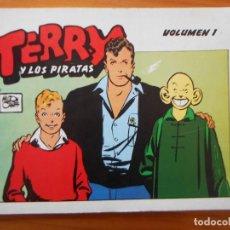 Cómics: TERRY Y LOS PIRATAS - VOLUMEN 1 - EL AVENTURERO EDICIONES (A). Lote 243893235