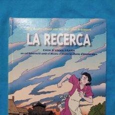 Cómics: LA RECERCA - CASA D'ANNA FRANK. Lote 243899735
