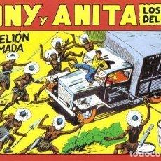 Cómics: TONY Y ANITA FACSIMIL NUMERO 146: REBELION ARMADA. Lote 243938845