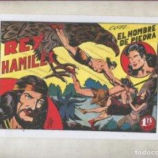 Cómics: PURK EL HOMBRE DE PIEDRA, FACSIMIL NUMERO 006: EL REY DE LOS HAMILES. Lote 243939890
