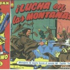 Cómics: EL CAPITAN TRUENO FACSIMIL EL PERIODICO NUMERO 028: LUCHA EN LAS MONTAÑAS. Lote 243955765