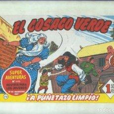 Cómics: FACSIMIL DE EDICIONES B: EL COSACO VERDE NUMERO 072: A PUÑETAZO LIMPIO. Lote 243960290
