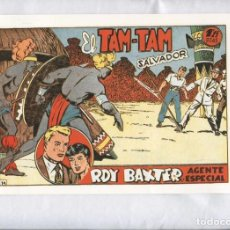 Cómics: FACSIMIL: ROY BAXTER NUMERO 14: EL TAM TAM SALVADOR. Lote 243967020