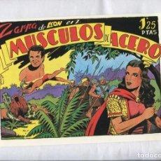 Cómics: FACSIMIL: ZARPA DE LEON NUMERO 03: MUSCULOS DE ACERO. Lote 243967655