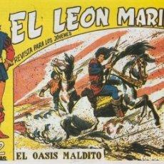 Cómics: EL LEON MARINO FACSIMIL NUMERO 11: EL OASIS MALDITO. Lote 243969085