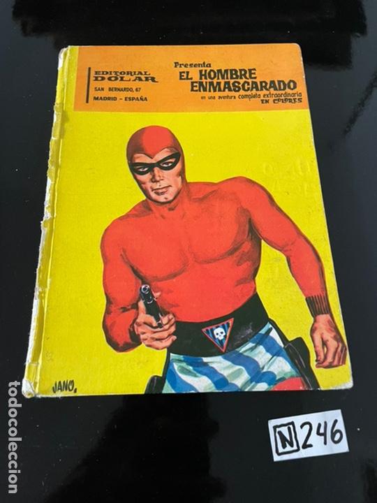EL HOMBRE ENMASCARADO (Tebeos y Comics Pendientes de Clasificar)