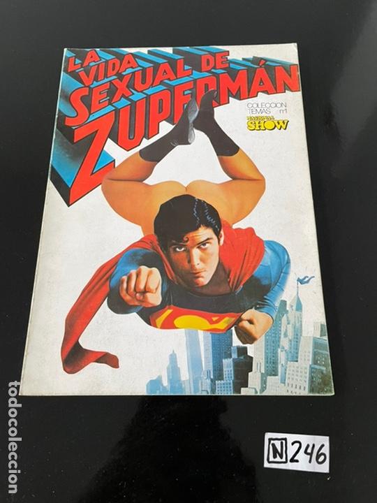 LA VIDA SEXUAL DE SUPERMAN (Tebeos y Comics Pendientes de Clasificar)