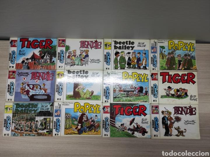 COLECCIÓN COMPLETA 12 NÚMEROS STRIP CÓMICS EDICIONES ESEUVE 1990. SIN USO (Tebeos y Comics - Comics otras Editoriales Actuales)