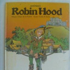 Cómics: ROBIN HOOD , DE CHIQUI DE LA FUENTE . LAROUSSE - ITACA , 1982. Lote 244412845