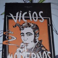Cómics: VICIOS MODERNOS, CEESEPE Y GARCÍA ALIX. Lote 244416040