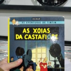 Cómics: AS AVENTURAS DE TINTIN AS XOIAS DA CASTAFIORE. Lote 244484635