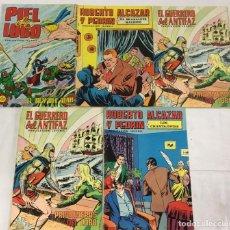 """Cómics: LOTE DE 5 TEBEOS """"PUBLICACION JUVENIL"""" .. Lote 244486325"""