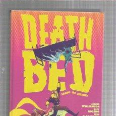 Cómics: DEATH BED LECHO DE MUERTE. Lote 244488420