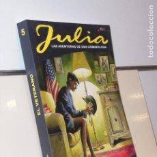 Cómics: JULIA VOL. 5 EL VETERANO TOMO GRANDE BONELLI COMICS - ALETA OFERTA (ANTES 13,95€). Lote 244492090