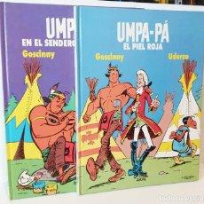 Cómics: LOTE TOMO 1 Y 2 UMPA-PÁ AKAL EN BUEN ESTADO. Lote 244517745