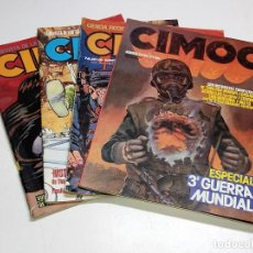 Cómics: 4 NUMEROS DE COMICS CIMOC AÑOS 80. Lote 244561535