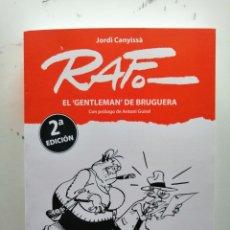 Comics: LIBRO RAF EL GENTLEMAN DE BRUGUERA BIOGRÁFICO DEL AUTOR. Lote 244662555
