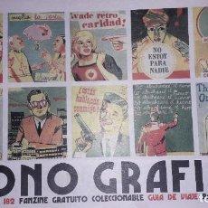 Cómics: MONO GRAFICO - 27 ANIVERSARIO - 182 - FANZINE. Lote 244783685