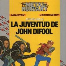 Cómics: METAL HURLANT COL. HUMANOIDES Nº 31 LA JUVENTUD DE JOHN DIFOOL - EUROCOMIC - MUY BUEN ESTADO - OFM15. Lote 244790410