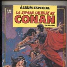 Cómics: LA ESPADA SALVAJE DE CONAN PRIMERA EDICION RETAPADO NUMERO 047 AL 049. Lote 244921760