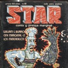 Cómics: REVISTA STAR NUMERO 18: WILLIAMS BURROUGHS, JOHN WILLIE Y GWENDOLINE. Lote 244921805