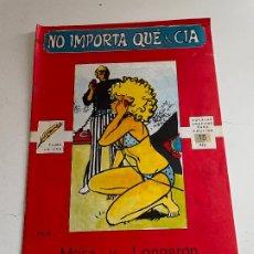 Cómics: NO IMPORTA QUE & CIA. Lote 245059620