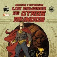 Cómics: BATMAN Y SUPERMAN. LOS MEJORES DE OTROS MUNDOS. ECC. 176 PAGINAS. Lote 245064840