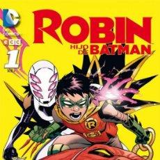 Cómics: ROBIN HIJO DE BATMAN.SERIE COMPLETA: 2 TOMOS . 300 PAGINAS PAGINAS. ECC. Lote 245074325