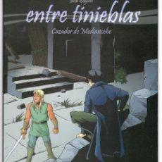 Cómics: ENTRE TINIEBLAS CAZADOR DE MEDIANOCHE (JORDI BAYARRI) ALETA EDICIONES - IMPECABLE. Lote 245074735