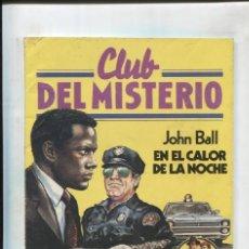 Cómics: BRUGUERA: CLUB DEL MISTERIO NUMERO 062: EN EL CALOR DE LA NOCHE. Lote 245092195