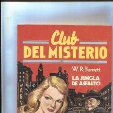 Cómics: BRUGUERA: CLUB DEL MISTERIO NUMERO 076: LA JUNGLA DE ASFALTO. Lote 245092215