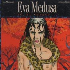 Cómics: EVA MEDUSA GUIÓN ANTONIO SEGURA DIBUJOS ANA MIRALLES TOMOS 1 Y 2. Lote 245175070