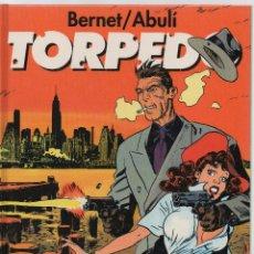 Cómics: TORPEDO POR BERNET Y ABULÍ 3 TOMOS EDITADOS POR GLÉNAT. Lote 245178345