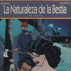 Cómics: LA NATURALEZA DE LA BESTIA POR JORDI BERNET Y SÁNCHEZ ABULI. Lote 245179880