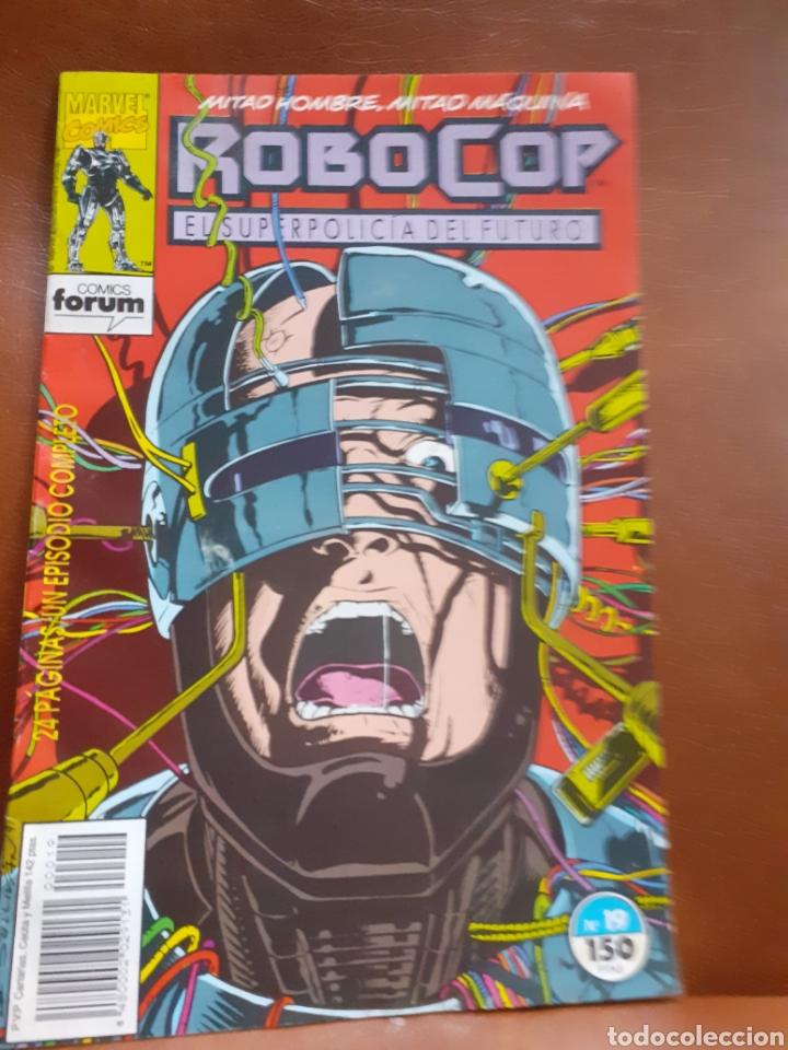 COMIC FORUM NÚM. 19 ROBOCOP (Tebeos y Comics - Comics Pequeños Lotes de Conjunto)