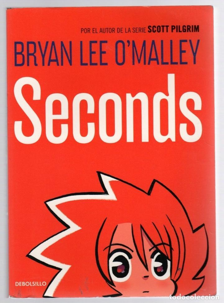 SECONDS. BRYAN LEE O'MALLEY. DEBOLSILLO, 2014. 1ª EDICION (Tebeos y Comics - Comics otras Editoriales Actuales)
