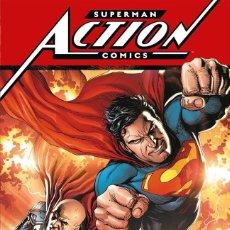 Cómics: SUPERMAN. ACTION COMICS. 3 TOMOS. ECC. TAPA DURA. Lote 245385825