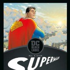 Cómics: GRANT MORRISON. SUPERMAN ALL STAR. BLACK LABEL .ECC. TAPA DURA. 328 PAGINAS. Lote 245393775