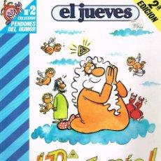 Cómics: PENDONES DEL HUMOR Nº 2,DIOS MIO. EL JUEVES. Lote 245420875