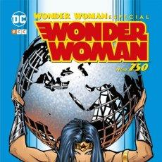 Cómics: ESPECIAL WONDER WOMAN 750 ECC EDICIONES. TAPA DURA 168 PAGINAS. Lote 245445155
