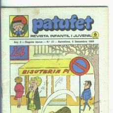 Cómics: PATUFET SEGONA EPOCA NUMERO 027. Lote 245521380