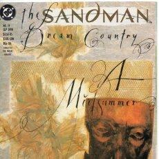 Cómics: LOTE: ESSENTIAL VERTIGO: THE SANDMAN DREAM COUNTRY, A MIDSUMMER NIGHTS DREAM AND THE SOUNDS OF HER W. Lote 245552115