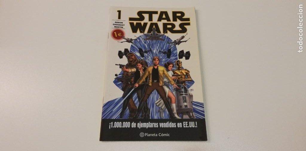 V- STAR WARS DARTH VADER 1 GILLEN LARROCA DELGADO PLANETA (Tebeos y Comics Pendientes de Clasificar)