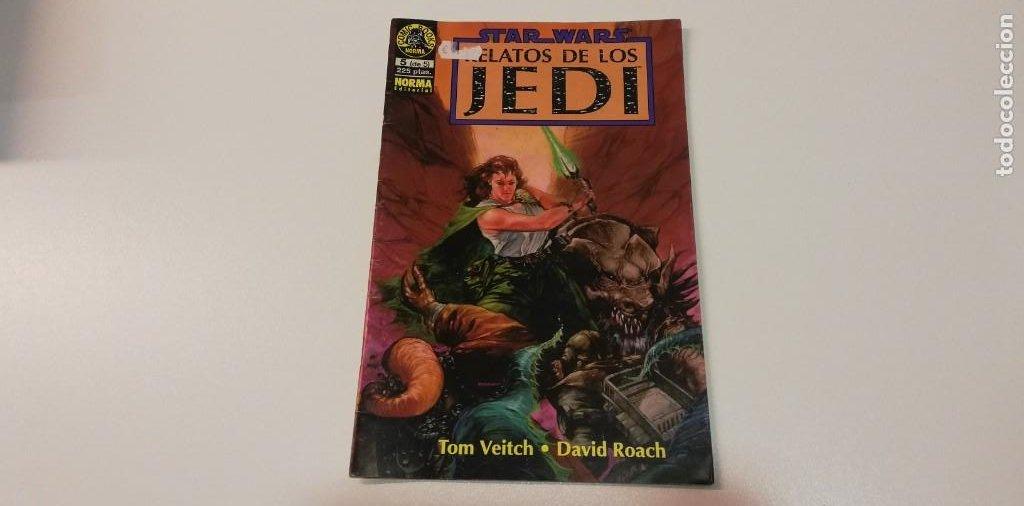 V- STAR WARS RELATOS DE LOS JEDI TOM VEITCH N5 NORMA EDITORIAL (Tebeos y Comics Pendientes de Clasificar)