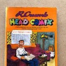 Comics: HEAD COMIX / R. CRUMB / PASTANAGA SERIES /. Lote 245711050