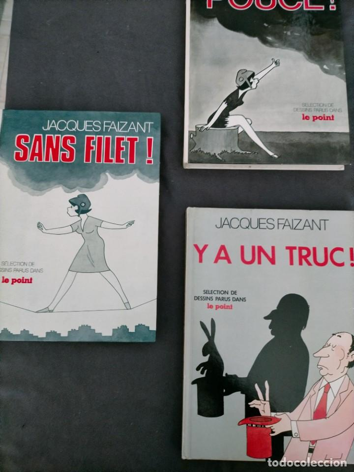 Cómics: JACQUES FAIZANT POUCE SANS FILET Y UN TRUC SELECTION DE DESSINS PARUS DANS LE POINT - Foto 1 - 245929410