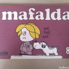 Cómics: MAFALDA 8. TIRAS DE QUINO. EDICIONES DE LA FLOR. LIBRO. Lote 245945145