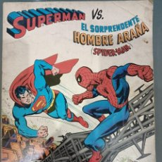 Cómics: CÓMIC: SUPERMAN VS EL SORPRENDENTE HOMBRE ARAÑA. ED NOVARO.. Lote 246187075