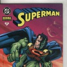 Cómics: NORMA: SUPERMAN: SERIE REGULAR NUMERO 17: LOS OJOS DEL HALCON. Lote 246208860